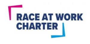 Race at Work Charter logo